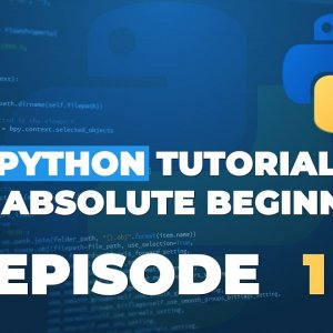 Python tutorial for ABSOLUTE Beginners! Python Installation - Episode 1