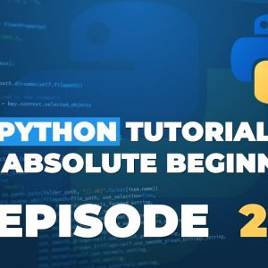Python tutorial for ABSOLUTE Beginners! Run your FIRST Python Program! - Episode 2