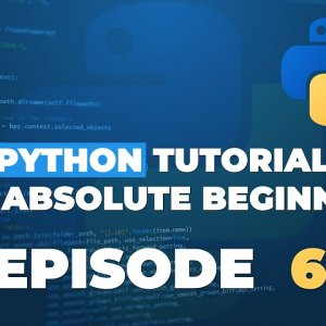 Python tutorial for ABSOLUTE Beginners! Formatted Strings - Episode 6