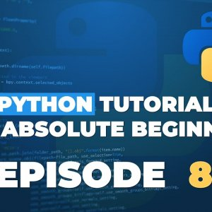 Python tutorial for ABSOLUTE Beginners! String Methods - Episode 8