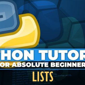 Python tutorial for ABSOLUTE Beginners! Lists in Python - Episode 15