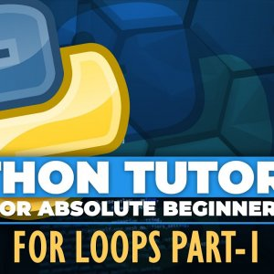 Python tutorial for ABSOLUTE Beginners! For loops in Python Part 1 - Episode 18