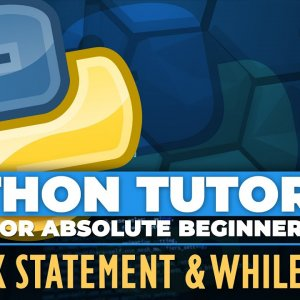 Python tutorial for ABSOLUTE Beginners! Break statement & While True - Episode 22
