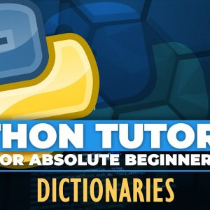 Python tutorial for ABSOLUTE Beginners! Dictionaries in Python - Episode 24