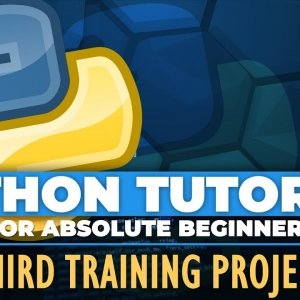Python TWO games Project - Python tutorial for ABSOLUTE Beginners! - Training Project 3 - Episode 30